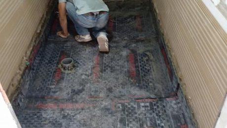 Thi công chống thấm nhà vệ sinh tại Hà Tĩnh